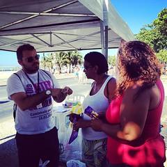 No dia 16/03, domingo, a CAP 2.1 integrou a ação da Rede de Serviços da Capital pelo fim da violência contra a mulher, na Praia de Copacabana (em frente ao Hotel Copacabana Palace), a partir das 9h. Foram distribuídos camisinhas feminina e masculina,