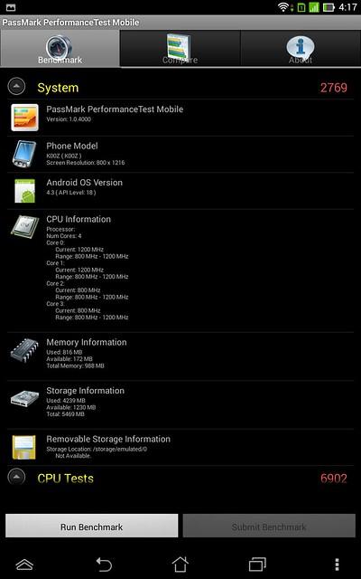 [Review] ASUS FonePad 7 Dual SIM nền tảng mới, giá phổ thông. - 12122