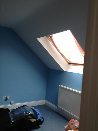 Eaves Room (Bluebird paint)
