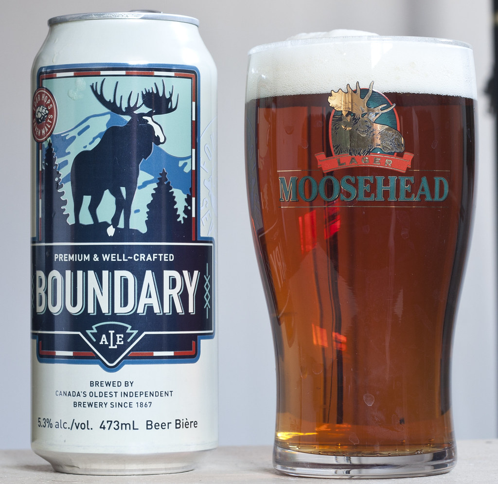 Review: Boundary Ale (Moosehead Breweries)