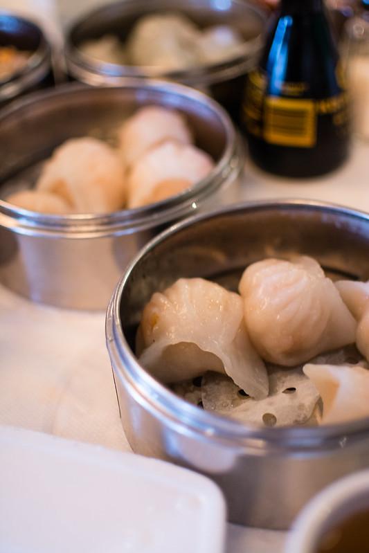 Har Gow dumplings at Mandarin House