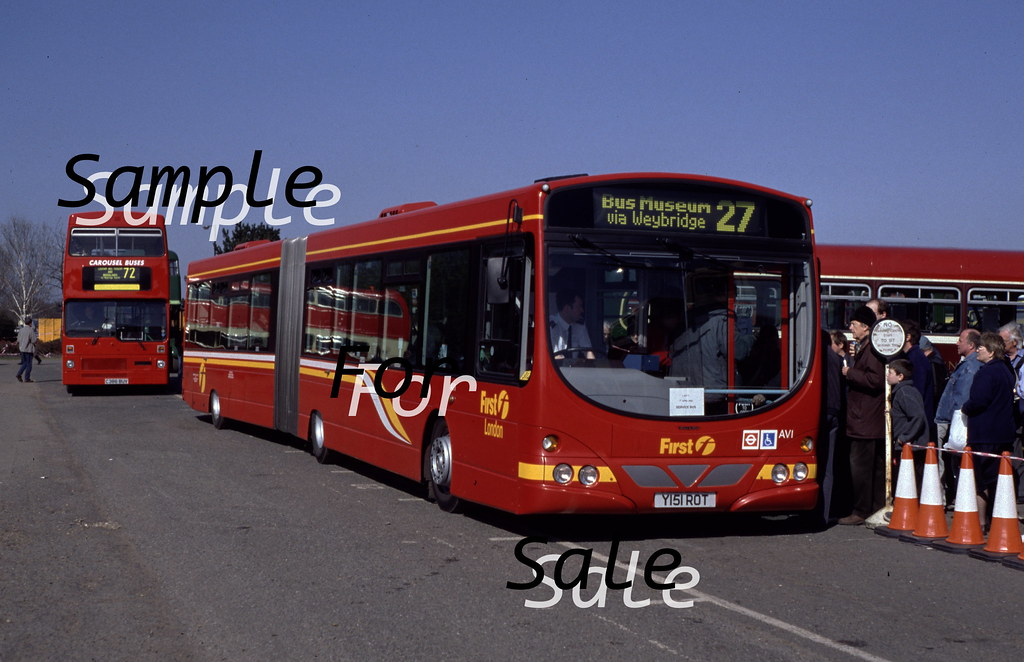 First London AV1 (Y151 ROT) | Dorsetyetti | Flickr