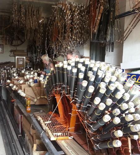 Malta Fireworks Fstival 2014 - Lilli Factory Fan Rack