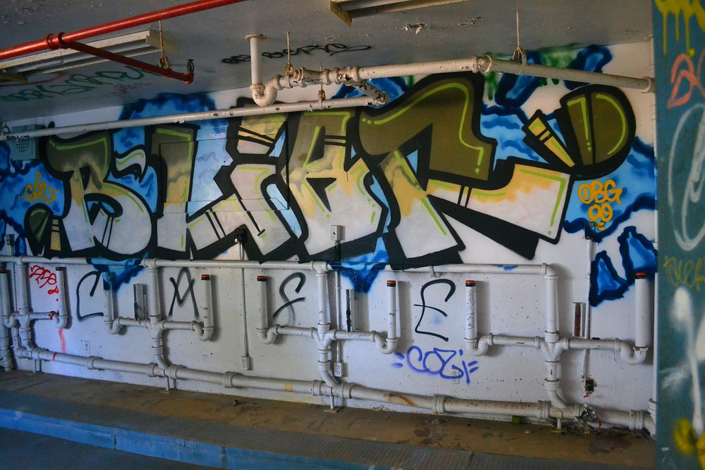 Graffiti, San Francisco, the yard, chill spot, BLIEF