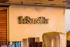 The Sunset Bar at sunrise