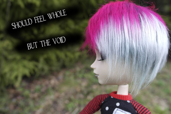 should feel whole but the voild