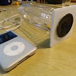 ペットボトルスピーカー / plastic bottle speaker