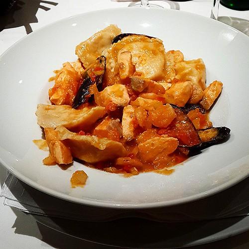 #nofilte #hambre #cena #frutodimare #pasta