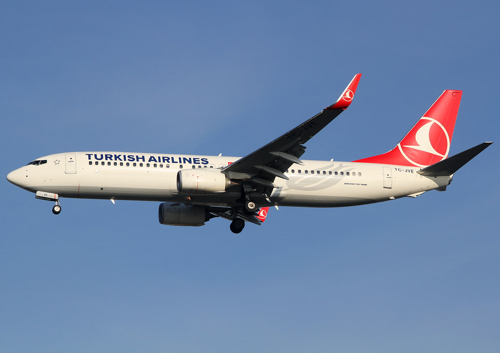 Short final for RWY26L inbound from Istanbul IST. Delivered 05/2014.