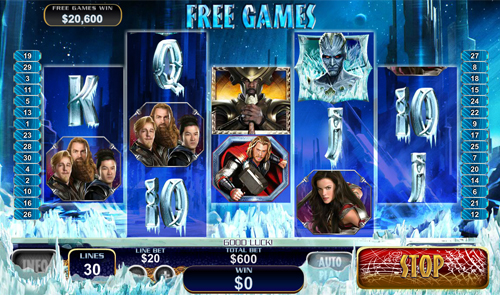 free Thor The Mighty Avenger Jotunheim Free Spins