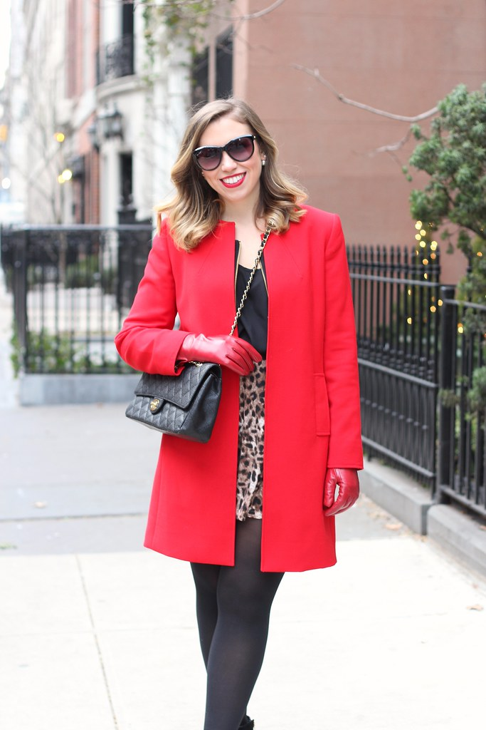 Leopard & Red | Outfit | #LivingAfterMidnite