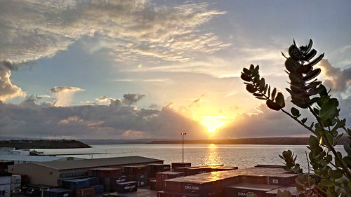 africa sunset sun water port soleil eau container diana madagascar seaport afrique 2014 diegosuarez antsiranana