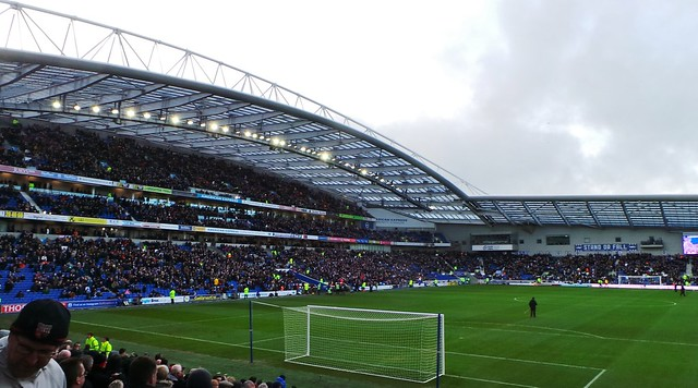 Brighton - Amex Stadium - Jan 2014 - Stand or Fall For Sussex by the Sea