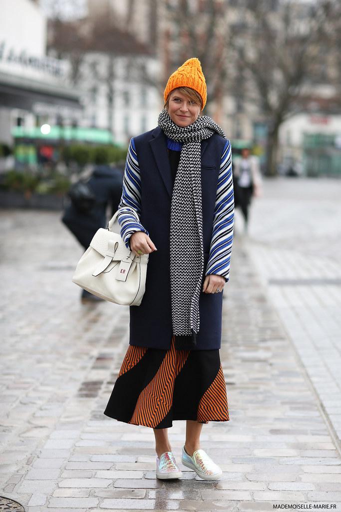 Elisa Nalin at Paris Fashion week menswear
