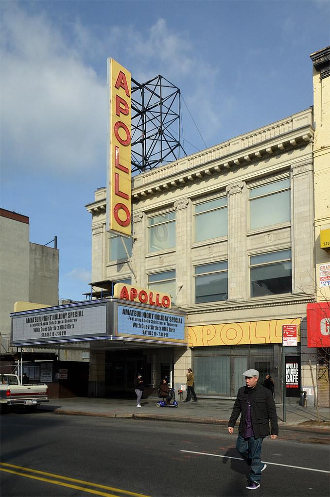 Teatro Apollo del barrio de Harlem en Nueva York donde actuó Mickel Jackson