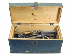 wood, chest, box,