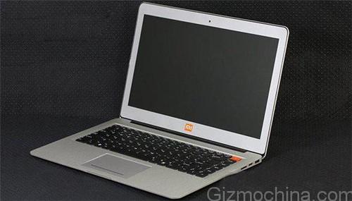 Xiaomi notebook kiszivárgott kép