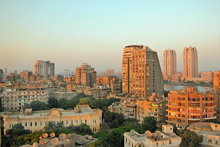 Le Caire à Zamalek (Egypte)