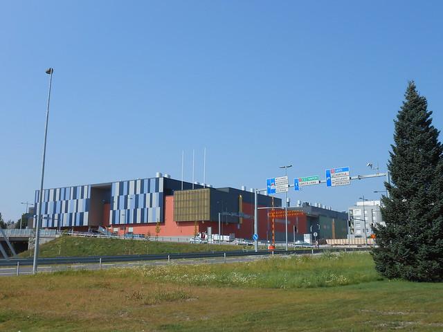 Hämeenlinnan moottoritiekate ja Goodman-kauppakeskus: Työmaatilanne 4.8.2014 - kuva 1
