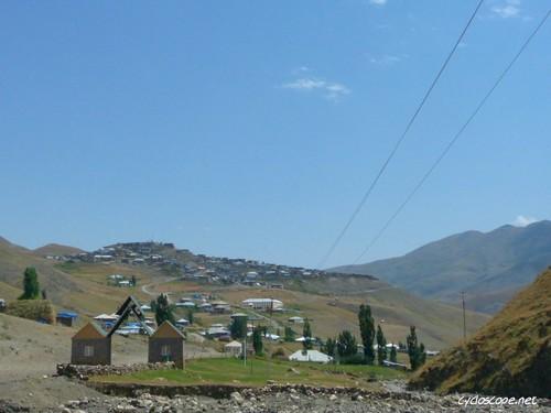 azerbaijan caucasus scape kinaliq