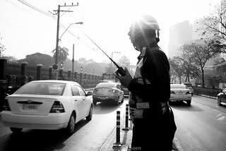 Traffic thai police