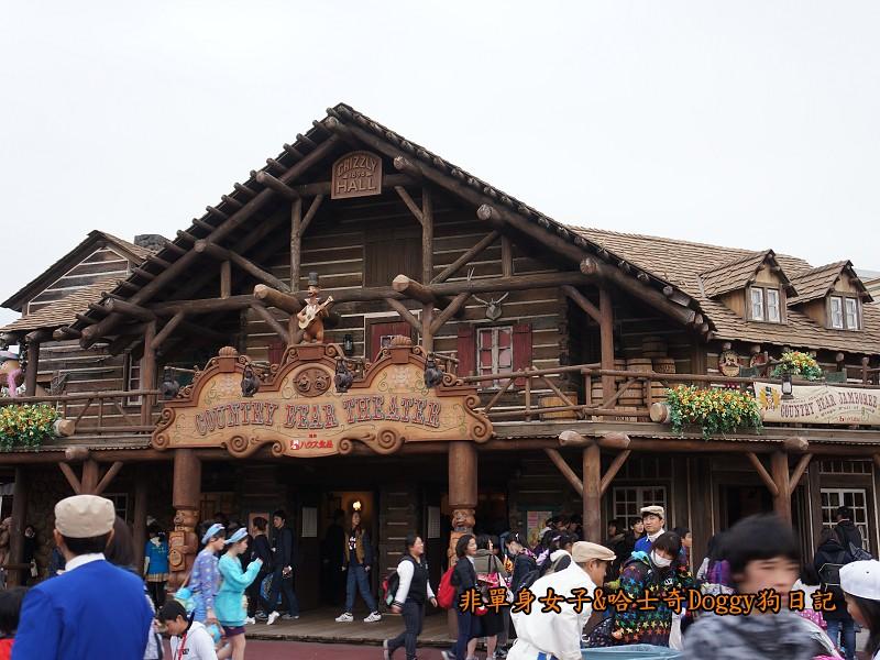 東京迪士尼樂園38鄉村劇場