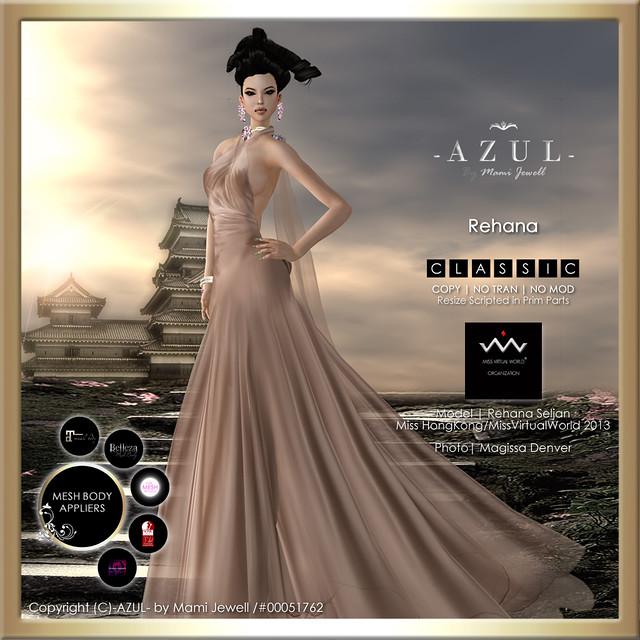 (IMAGE) Rehana (c)-AZUL-byMamiJewell