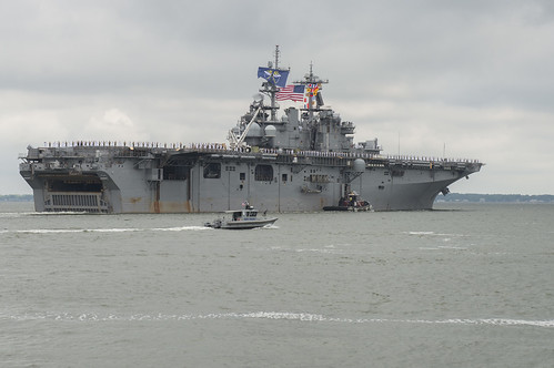 USS Wasp departs Naval Station Norfolk. | by Official U.S. Navy Imagery