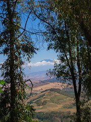 Sicilian landscape with Etna mountain