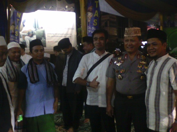 Kapolda Lampung kegiatan Lampung Mengaji, Adin