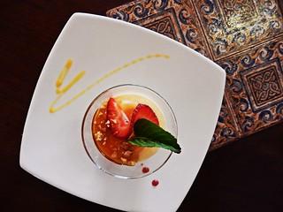 Gourmet desser at Zig Zag - Arequipa
