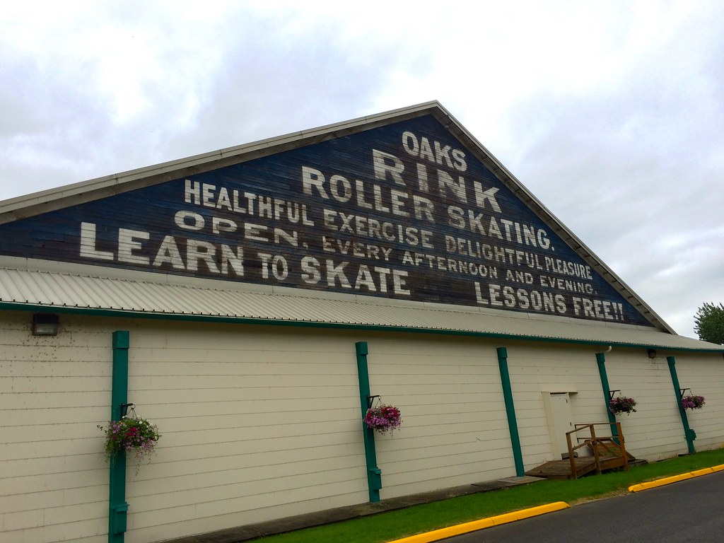 Oaks Park Roller Skating Rink Portland OR Retro Roadmap 2015