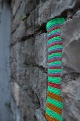 Yarn bombing Besançon 13
