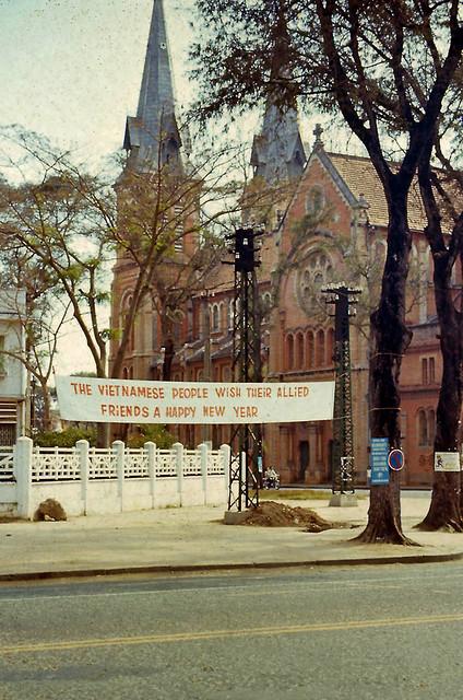 SAIGON 1960s by art_photo - Cathedral - Nhà thờ Đức Bà