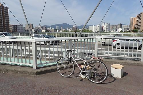 久々の自転車通勤