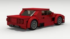 Chevy Corvette Z06 (C5) (rear view)
