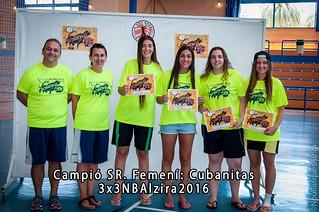 Campió SR. Femení 3x3NBAlzira 2016