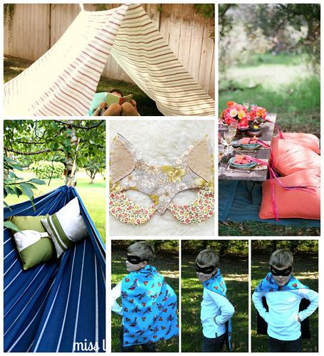 4my3boyz Backyard Fabric Fun