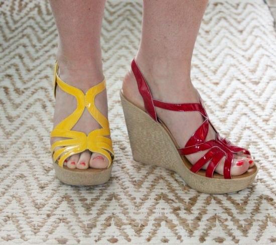 Tiara Wedge Sandal