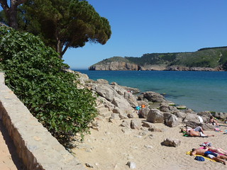 The beach at L'Escala Riells Costa brava