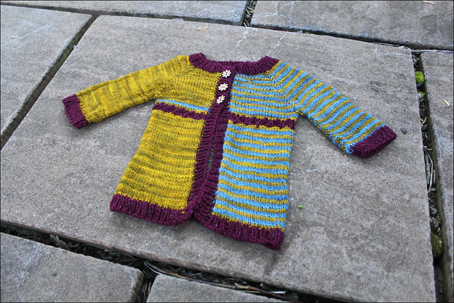 yet to be named baby cardigan