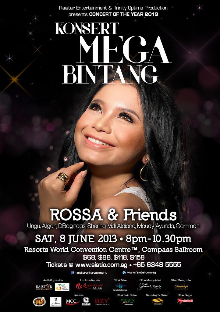 Rossa Konsert Mega Bintang