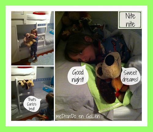 Julián & Patch bedtime