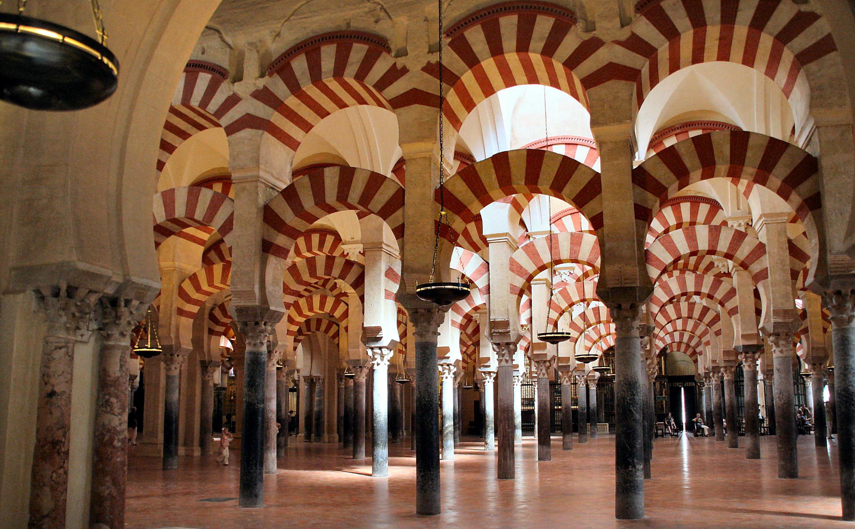 Interior de la mezquita cordobesa. Autor, James Gordon
