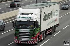 Scania R440 6x2 Tractor - PX11 BSZ - Linda Christine - Eddie Stobart - M1 J10 Luton - Steven Gray - IMG_8249