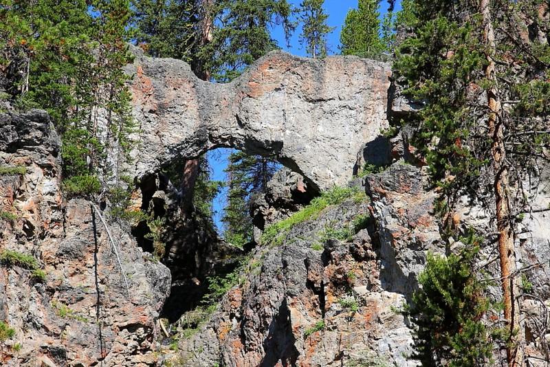 IMG_9444 Natural Bridge, Yellowstone National Park