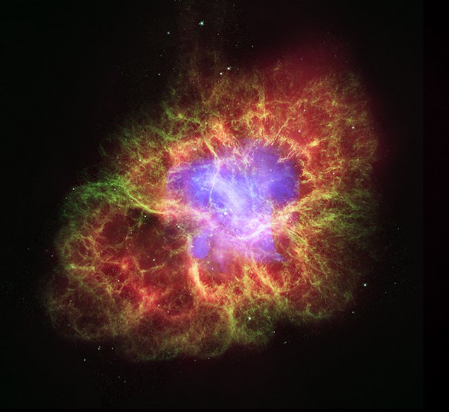 Crab Nebula - A Star