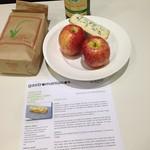 La receta y los ingredientes de gastromaniacos para el Arroz con cordero, sidra, manzana y queso La Peral