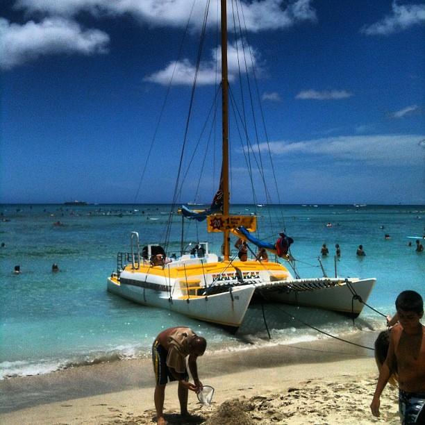 Cruise To Hawaii From California: #waikiki #beach #boat #cruise #ship #sun #fun #swim #surf