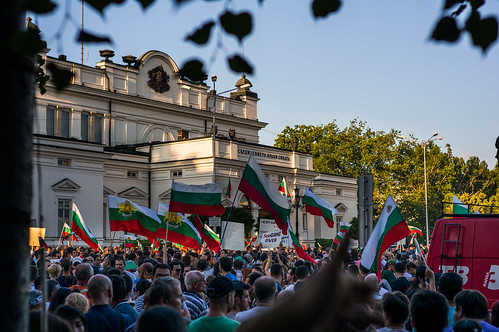 Protests in Sofia, Bulgaria - 16.06.2013